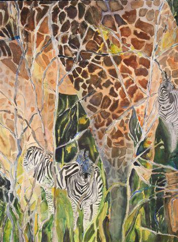 Namibia: Giraffes