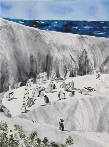 Cape Town, South Africa: African Penguins