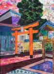 Niigata Japan Shinto Tori (Gate)-1